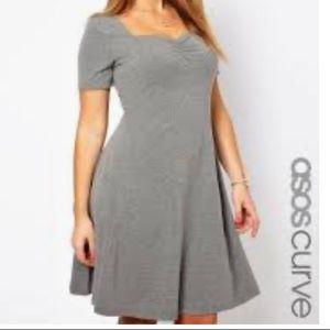 ASOS Curve gray dress size 20 women